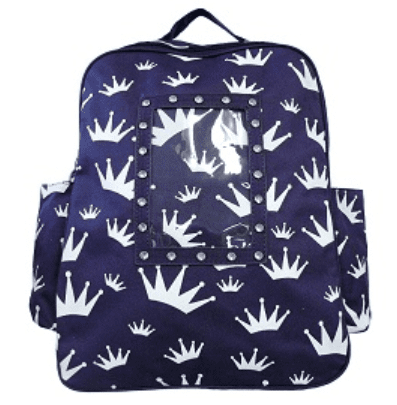 Crown Prink Back Pack - Purple or Blue