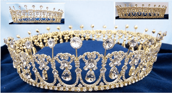Crystal Cambridge Lover's Knot Crown