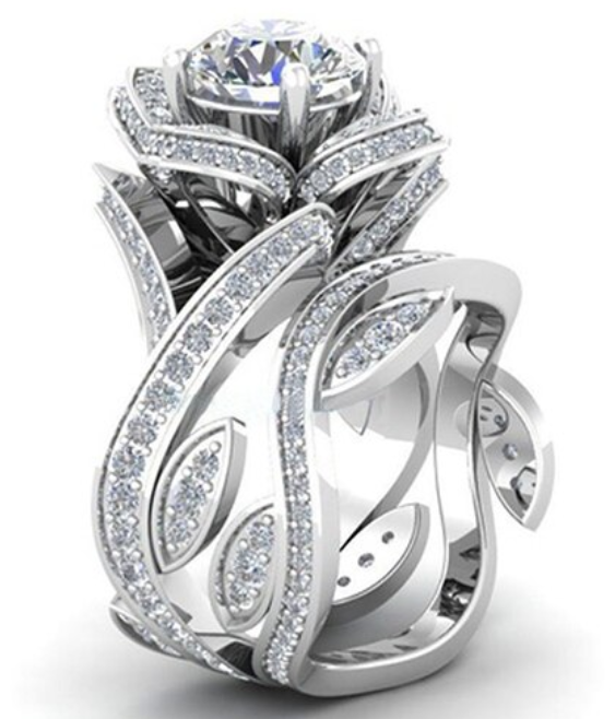 Luxury Rose Ring 2020
