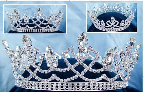 Dalton Crown - Crystal or Pearl Accents
