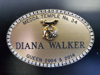 Daughters of the Nile Name Badge