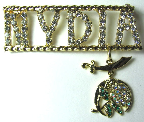 Daughters of the Nile-Nydia Station Pin