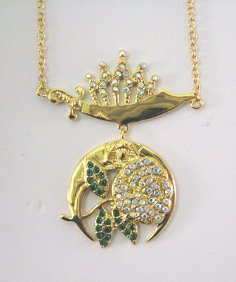 Daughters of the Nile-Past Queen Pendant - Gold or Silver