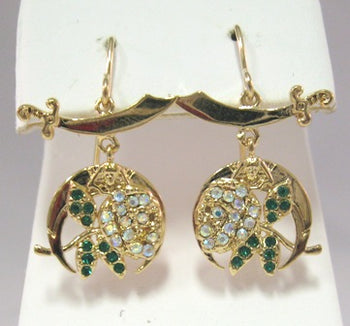 Daughters of the Nile-Small Earrings - Gold or Silver