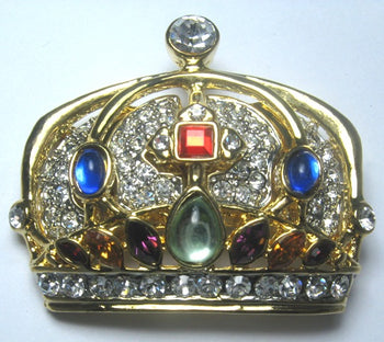 Desire Crown Pin
