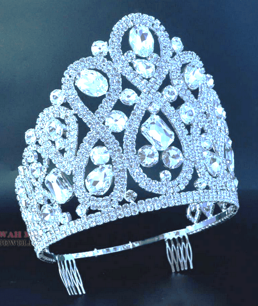 Dramatic Stoned Adjustable Crown