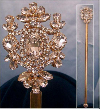 Eastham Scepter - Gold or Silver