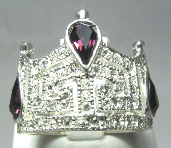 Ericka Crown Ring Size 5-9