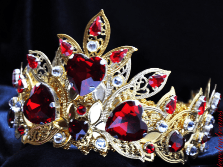 Giuliana - Queen of Hearts Tiara