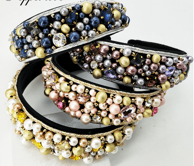 Gorgeous Beaded Headbands