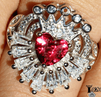 Hearts on Fire Crown Ring - Sizes 6 &7