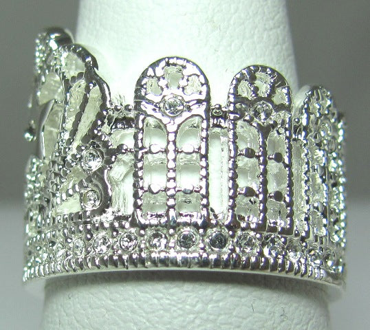 Keylee Crown Ring - Size 5, 8, 9