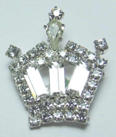 Life Crown Pin