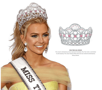 Miss Teen USA CZ Tiara