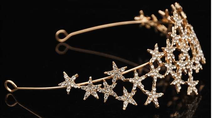 Multi Star Headband - Gold or Silver
