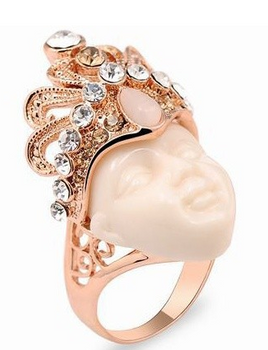 Egyptian Crown Ring - SIZE 6,7,8
