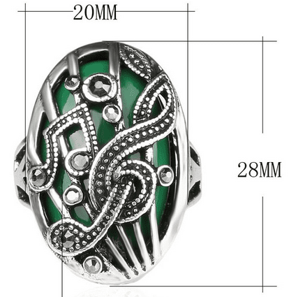 Musician's Ring - Black, Red, Blue, Green