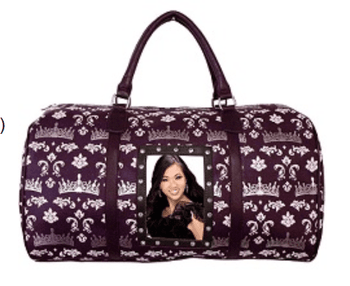 Crown Print Duffle Bag