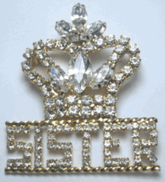 Truth Crown Pin/Pendant - Customize with letters or words
