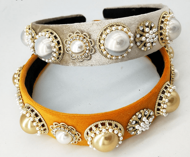 Pearls in Gold Settings