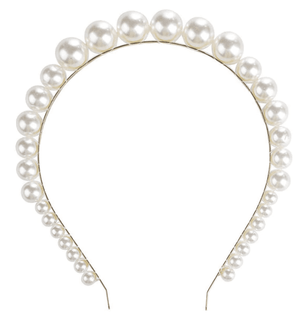 Pearls on Golden Band - 3 Styles!