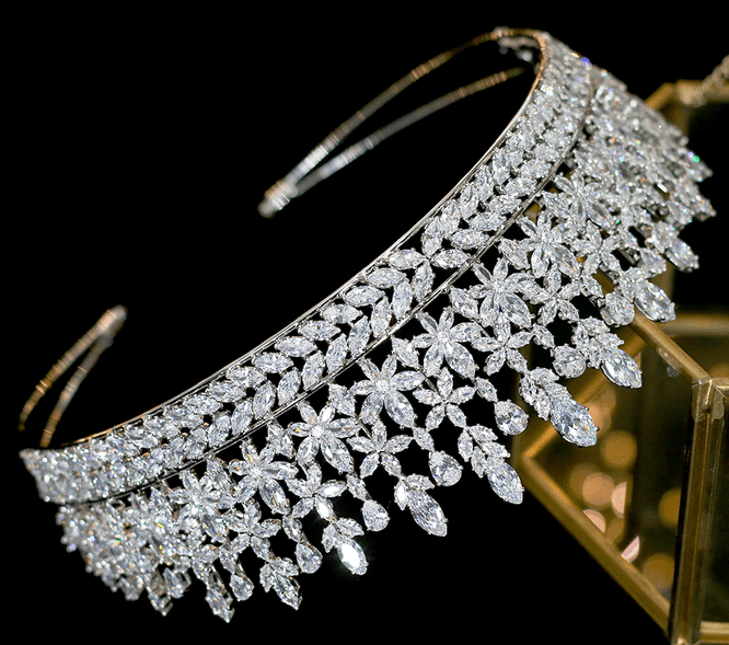 Princess Royal CZ Tiara
