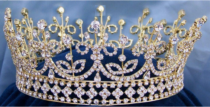 Queen Mary Crown - Gold or Silver