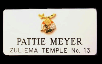 Rectangular  Name Badge