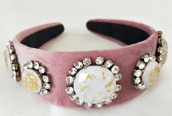 Rhinestone & Opal Headbands