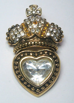 Romance Crown Pin