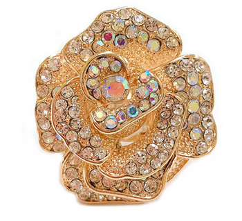 Golden Rose Stretch Ring 2020