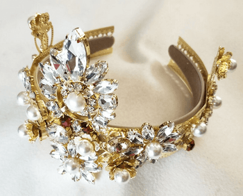 Royal Luxury Baroque Headdress