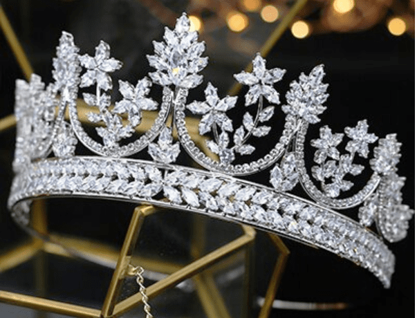 Royal Rose CZ Tiara