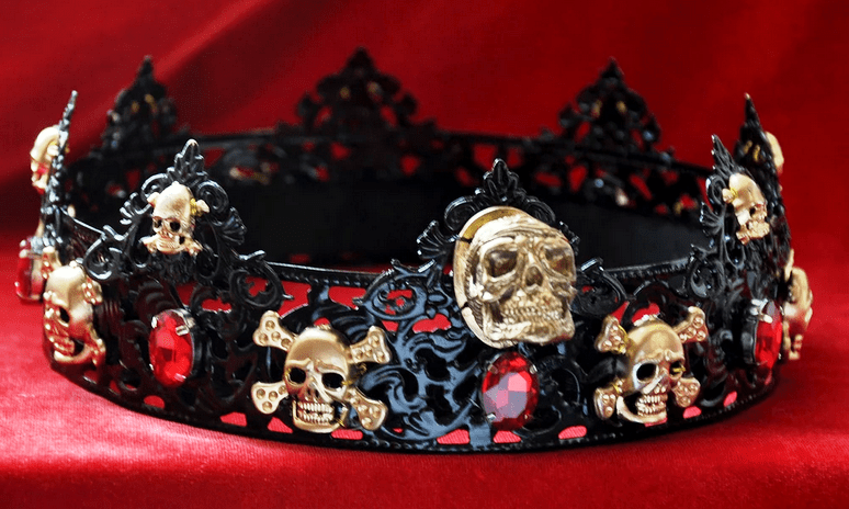 The Ryan's Black Skull Crown