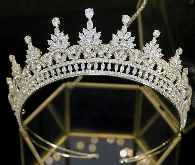 Sophisticated CZ Tiara