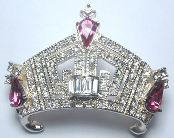 Teen American Crown Pin