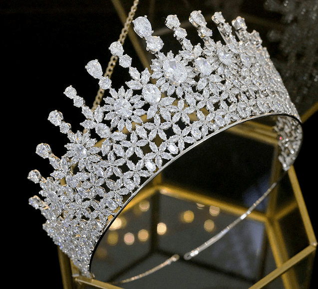 The Fondness CZ Tiara