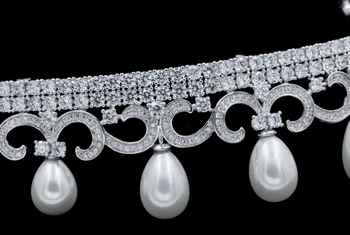 Fashion Pearl Tiara