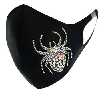 "THE RHINESTONE ""SPIDER"" MASK"