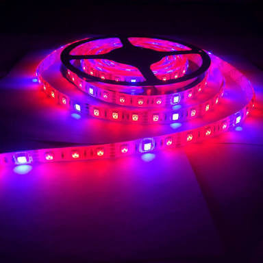 5m LED 14.4W/m Grow Strip Light