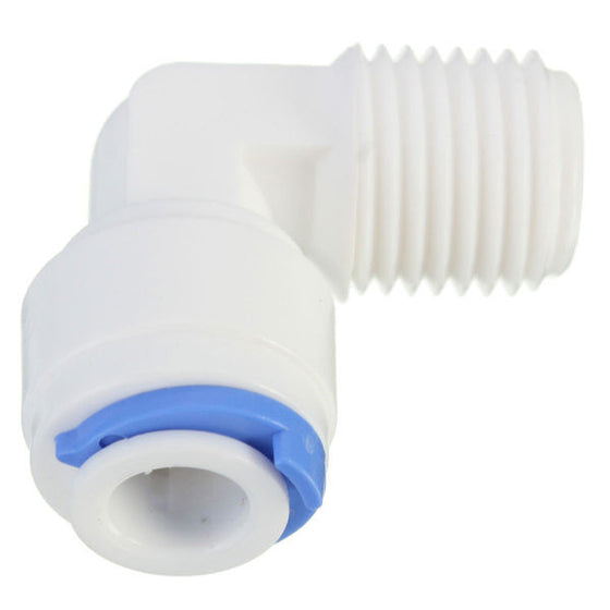 "Male Adaptor Elbow 1/4"" to 6mm"