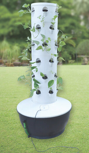 36 cup Centrifugal Aeroponics Growing System with Cloner Bucket