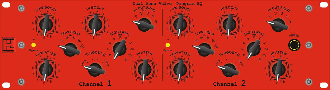 OZ - Dual Mono Program EQ (Pultec Type)