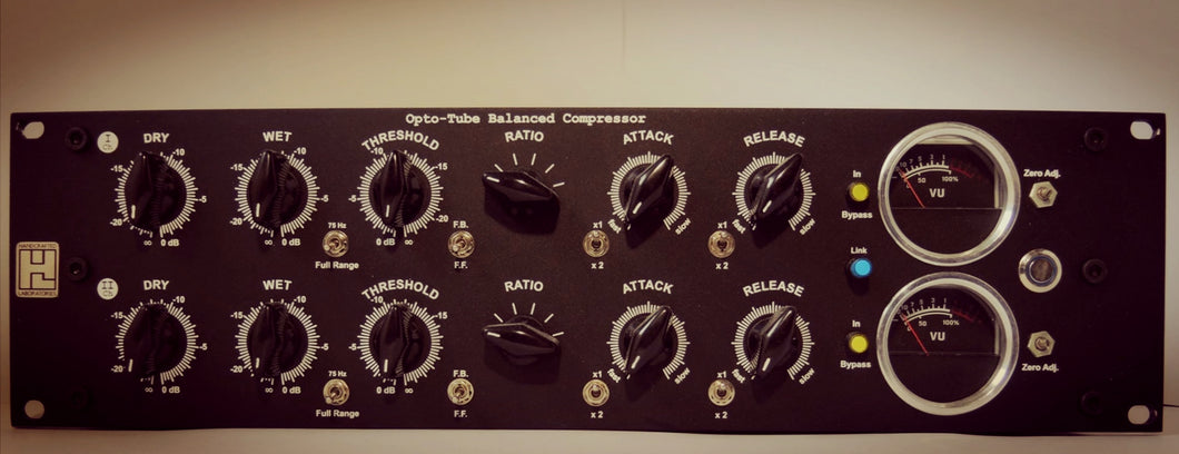 CORVO - Opto-Tube Balanced Parallel Compressor