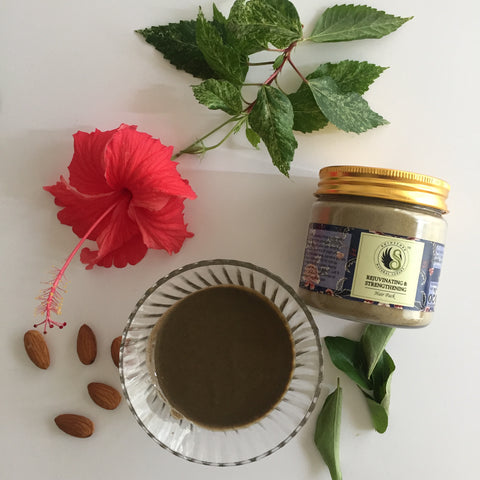 Ayurveda recipe hair pack and mask