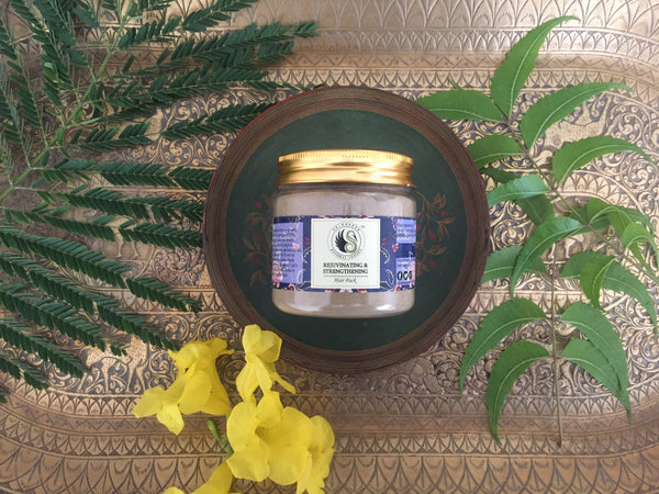 Hair mask with Neem and other Herbs