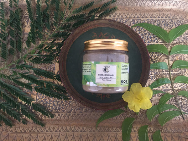 Neem and Tulsi Face cleanser