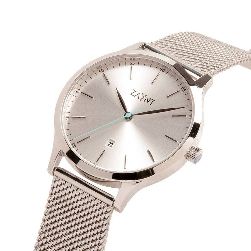 The Mojave Silver Mesh is a classic minimal watch to suit your diverse lifestyle for any occasion, elevate your look with this modern design at an affordable price.