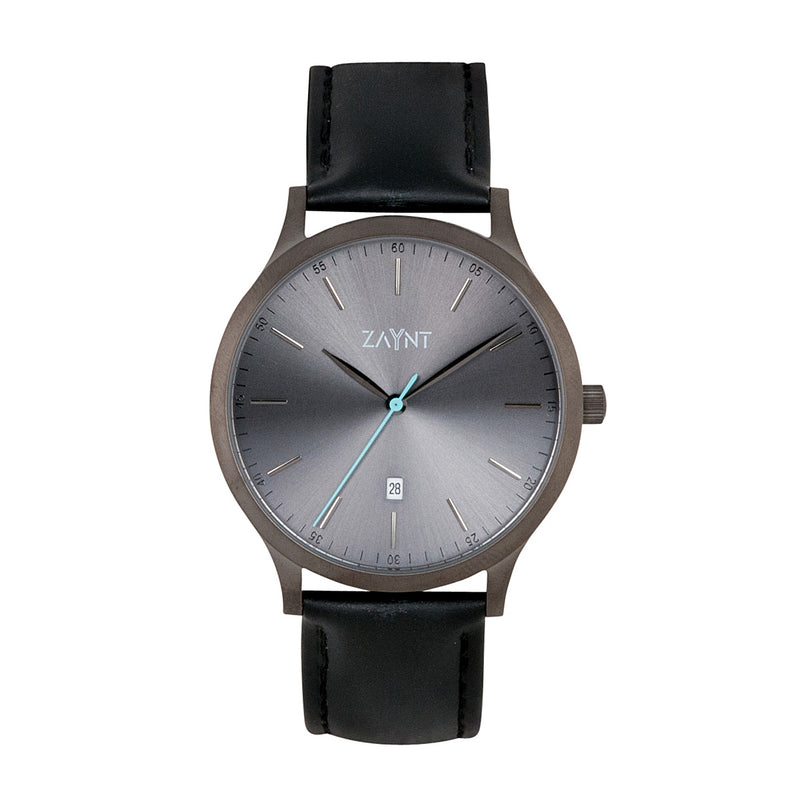 The Mojave Grey Black Leather is a classic minimal watch to suit your diverse lifestyle for any occasion, elevate your look with this modern design at an affordable price.