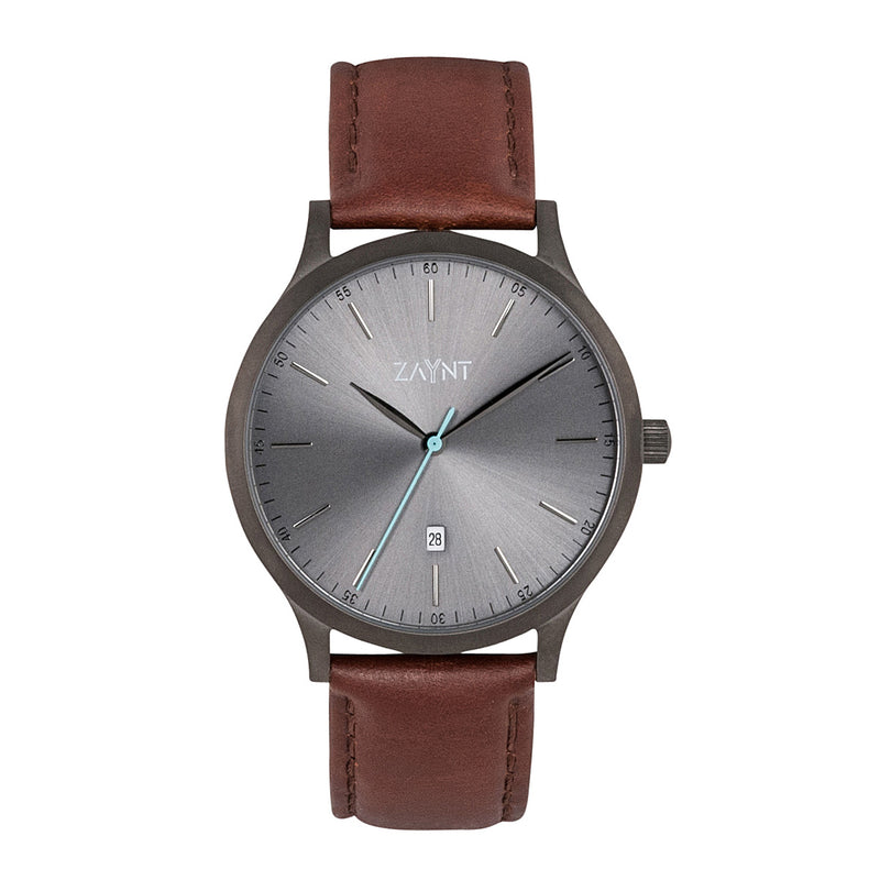 Mojave - Grey/Brown Leather